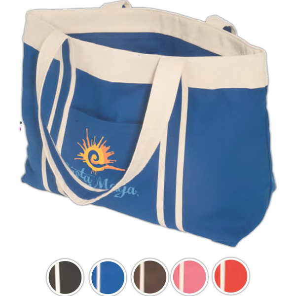 Promotional Eco-Responsible (TM) Newport Tote - 10 oz. Cotton