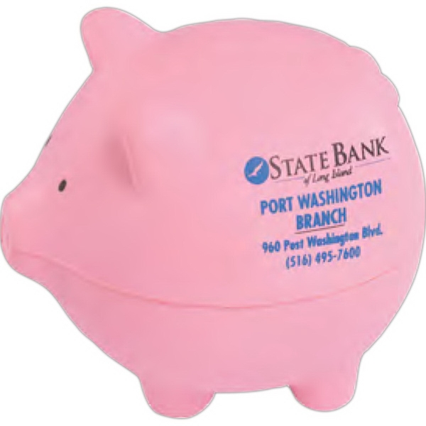 Imprinted Pig Stress Reliever