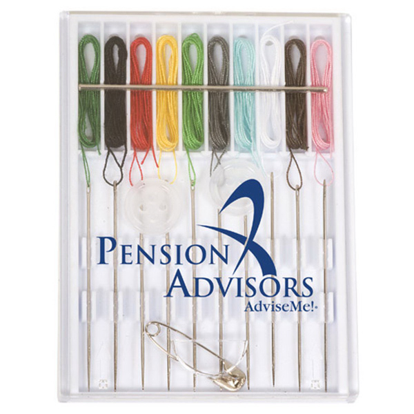 Personalized Pre-Threaded Sewing Kit