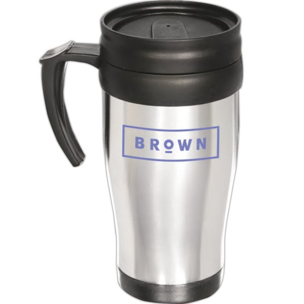 Imprinted Stainless Commuter Mug