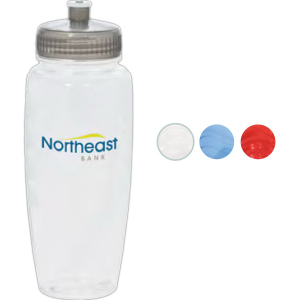 Customized PolyClear (TM) Gripper Bottle
