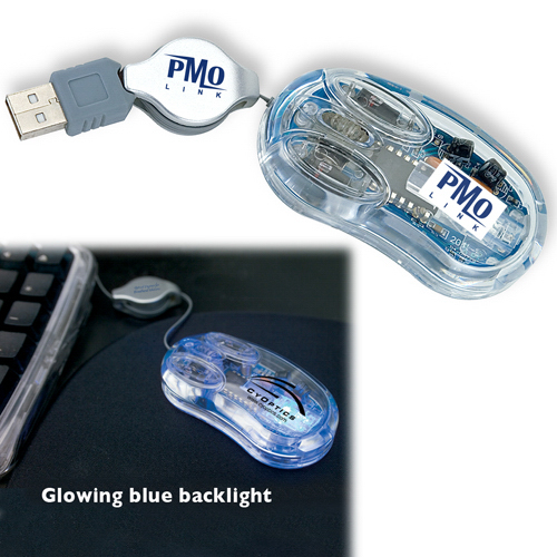 Custom USB Clear Optical Mini Mouse