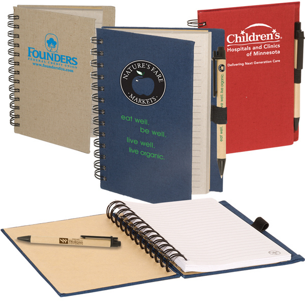 Printed Earth Saver Combo Pen and Journal