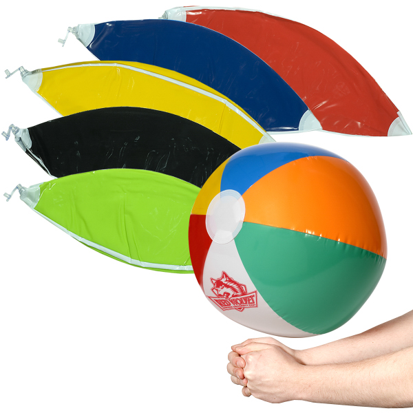 Custom Multi-Color Beach Ball