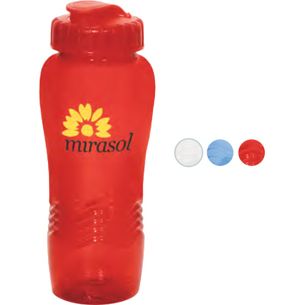 Promotional Transparent PolyClean (TM) Eco-Sipper