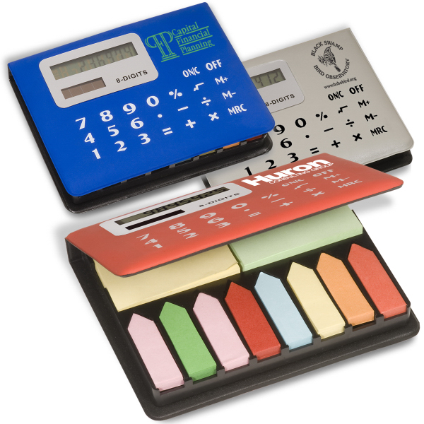 Personalized Calculator Sticky Caddy