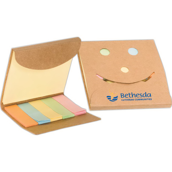 Custom Smiley Sticky Note Pack