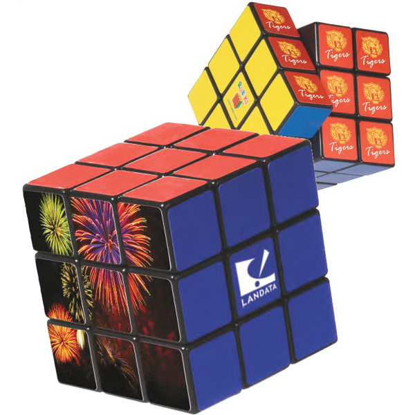 Promotional Rubik's (R) 9-Panel Full Stock Cube