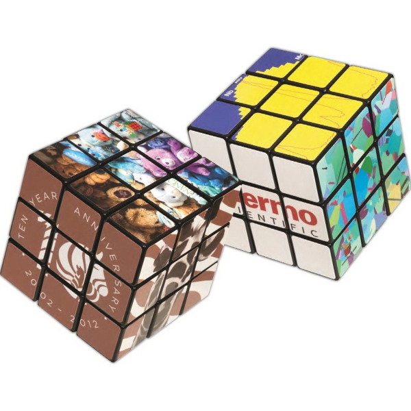 Printed Rubik's (R) 9-Panel Full Custom Cube