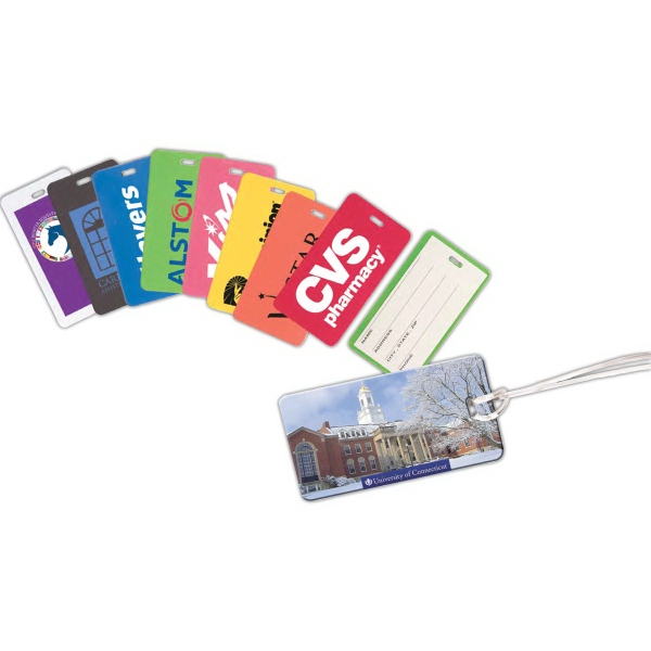 Personalized Hi-Flyer Luggage Tag