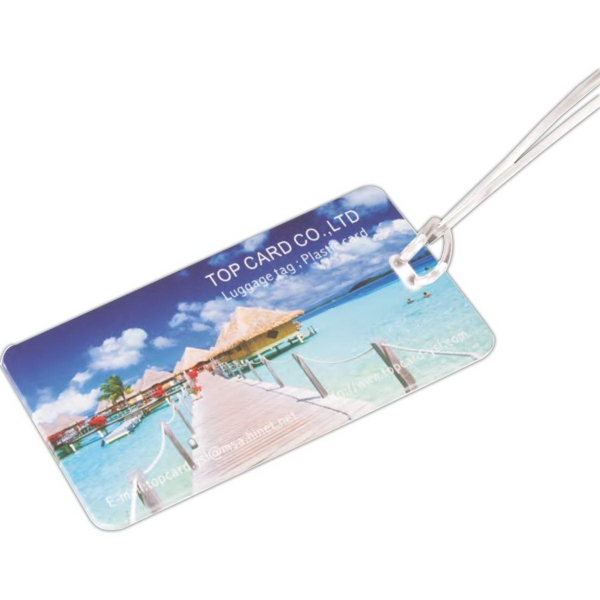 Customized Custom Hi-Flyer Luggage Tag