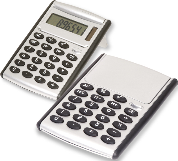 Printed Robot Series (R) Jumbo Desk Calculator