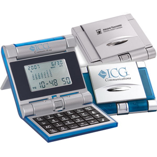 Promotional Robot Series (R) Evolution Calculator/Clock