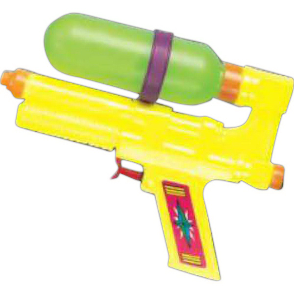 "Custom 7"" Medium Tanker Water Gun (Imprinted)"