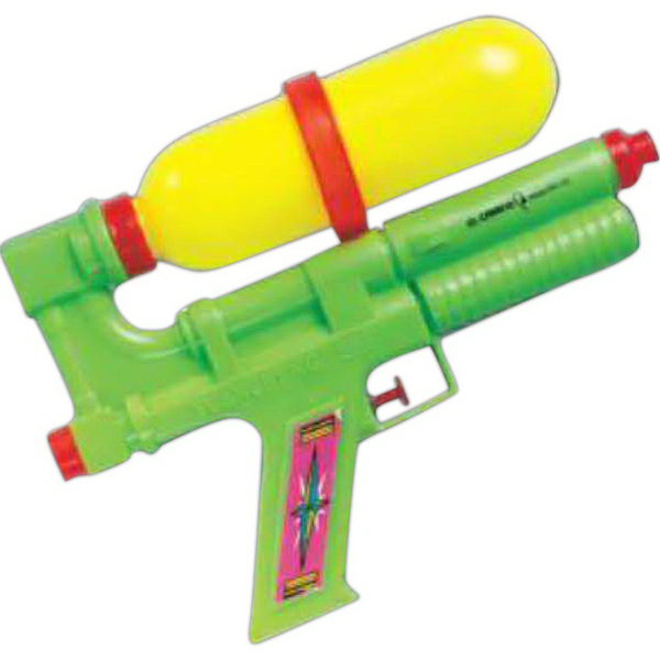 "Promotional 9"" Larger Tanker Water Gun (Imprinted)"