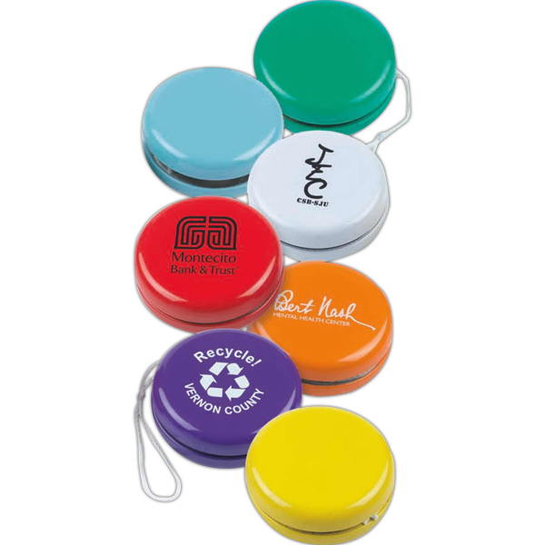 Promotional Retro Metal Yo-Yo (Imprinted)