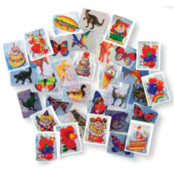 Promotional Stock Dazzling Stickers (Blank)