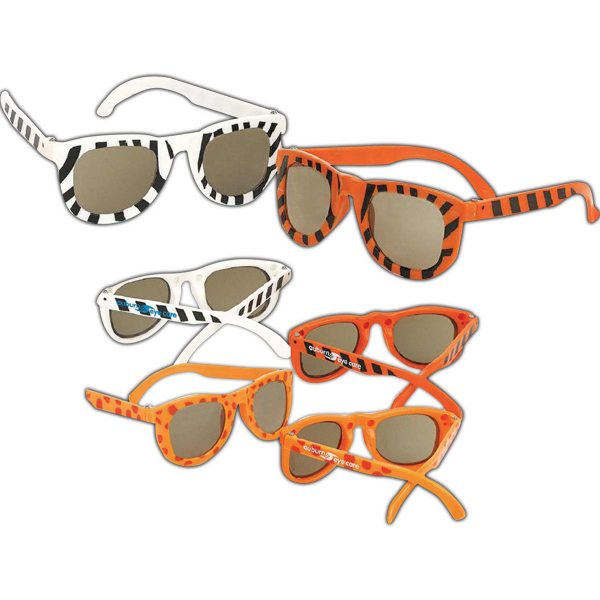 Printed Safari Sunglasses (Imprinted)