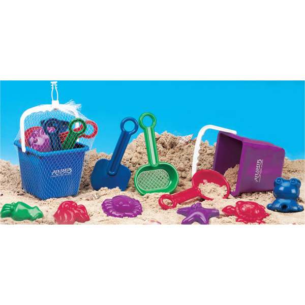 Custom Deluxe 10 Piece Sand Set (Imprinted)
