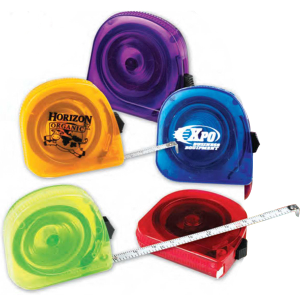 Customized Translucent Tape Measure (Imprinted)