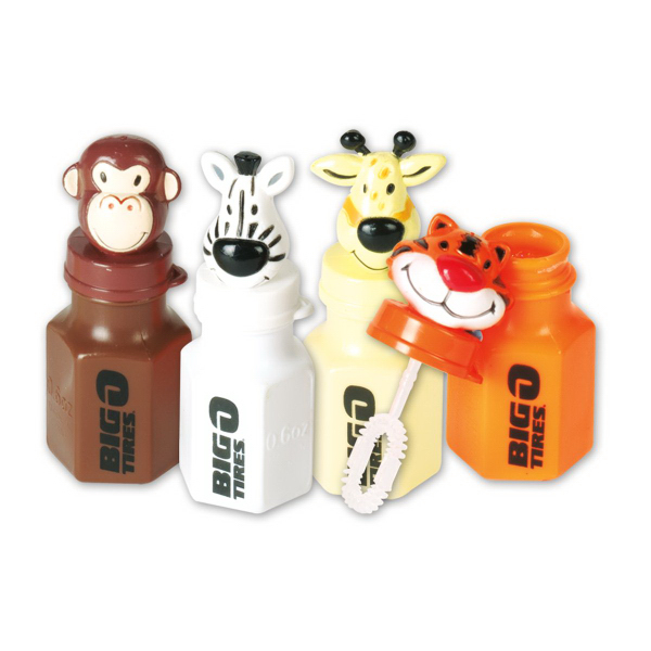 Promotional Mini Animal Bubbles (Imprinted)