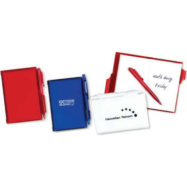 Customized Jot-It-Down Pad with Pen (Imprinted)