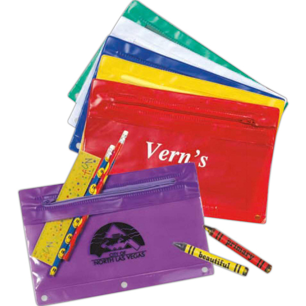 Imprinted Vinyl Pouch (Imprinted)
