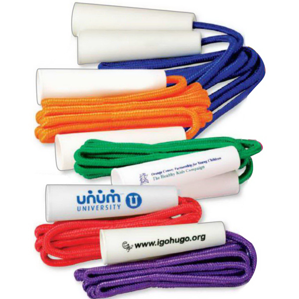 Promotional Solid Colored Jump Rope (Imprinted)