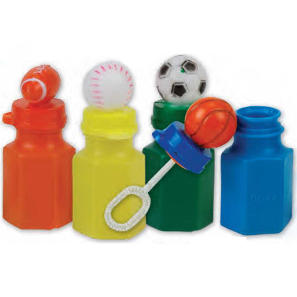 Promotional Mini Sports Bubbles (Imprinted)
