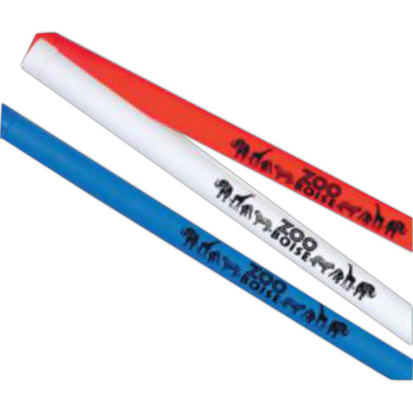 "Custom 15 1/2"" Plastic Groan Stick/Baton (Imprinted)"