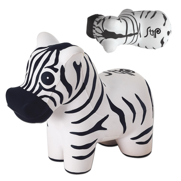 Customized Zebra Stress Reliever