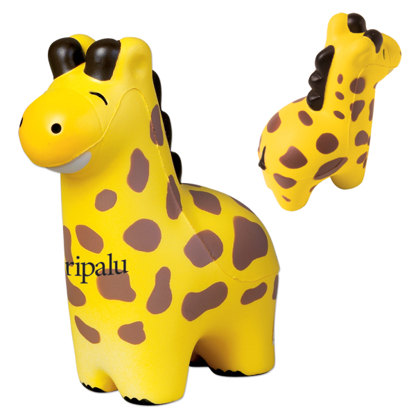 Personalized Giraffe Stress Reliever