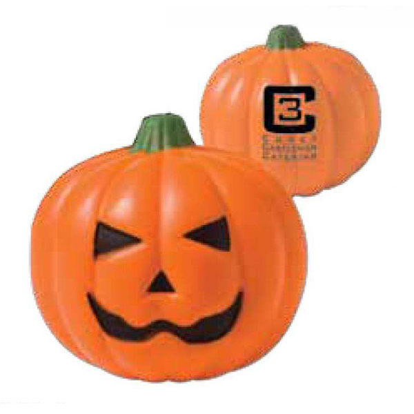 Imprinted Pumpkin Stress Reliever