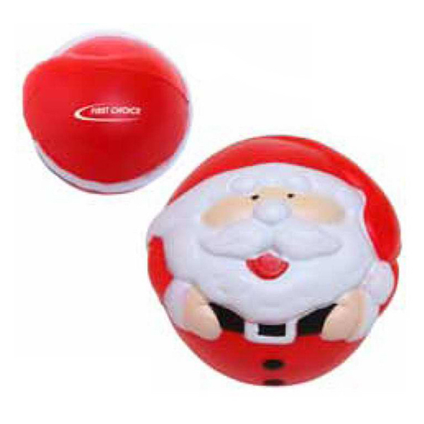 Printed Santa Stress Reliever