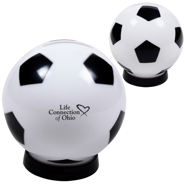 Custom Soccer Ball Bank