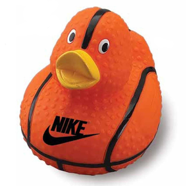 Customized Basketball Rubber Duck