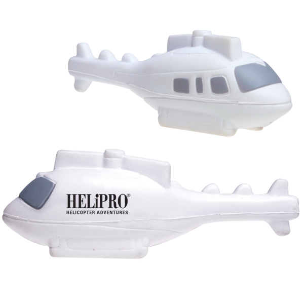 Imprinted Helicopter Stress Reliever