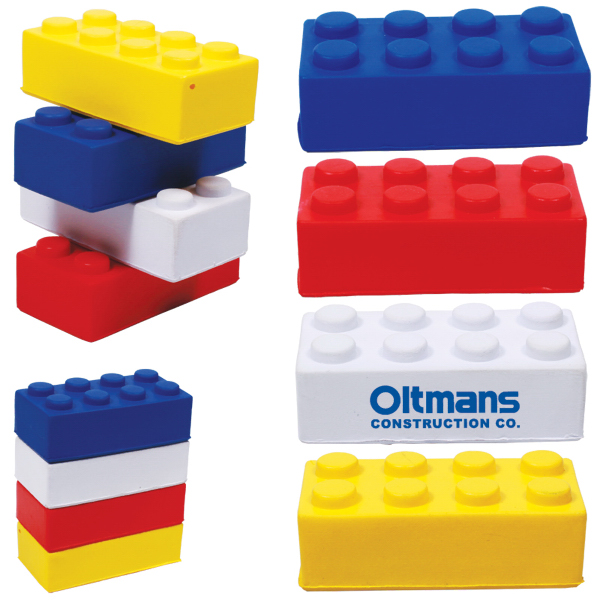 Customized Building Block Stress Reliever