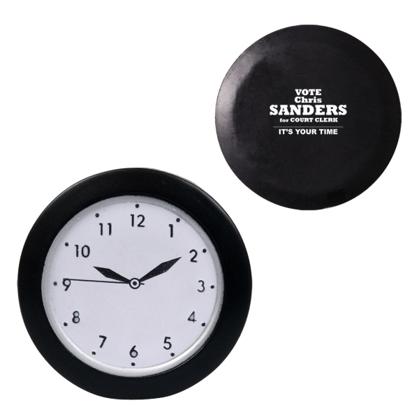 Customized Analog Wall Clock Stress Reliever