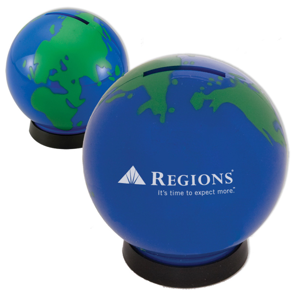 Personalized Globe Bank
