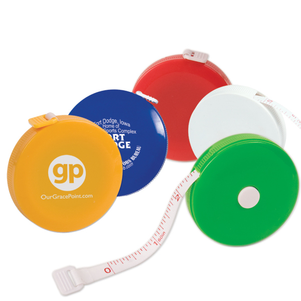 Imprinted 5 Ft. Round Tape Measure