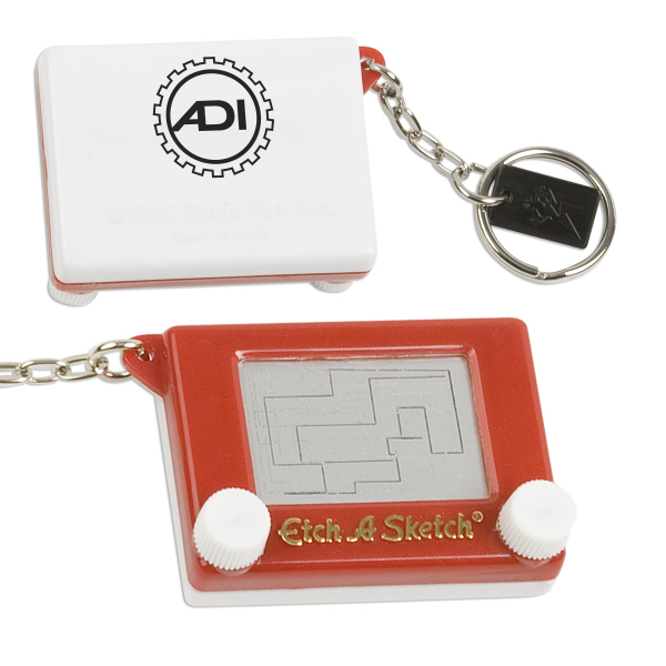Printed Etch a Sketch (R) Key Chain