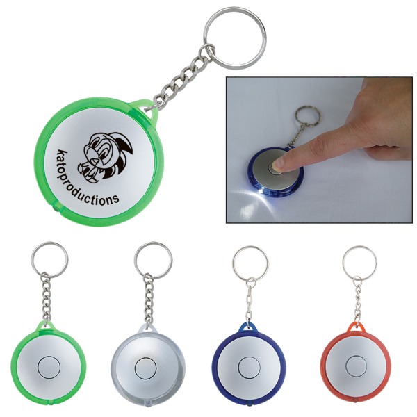 Customized Orbital Key Holder Flashlight
