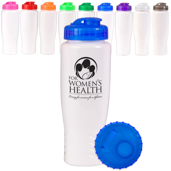 Printed 28 oz. PolyGloss Sport Bottle