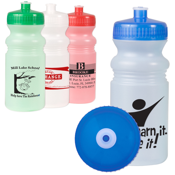 Customized 20 oz. Matte Sport Bottle