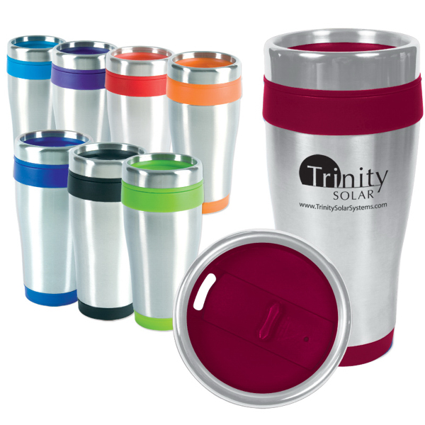 Printed 16 oz. Blue Monday Travel Tumbler