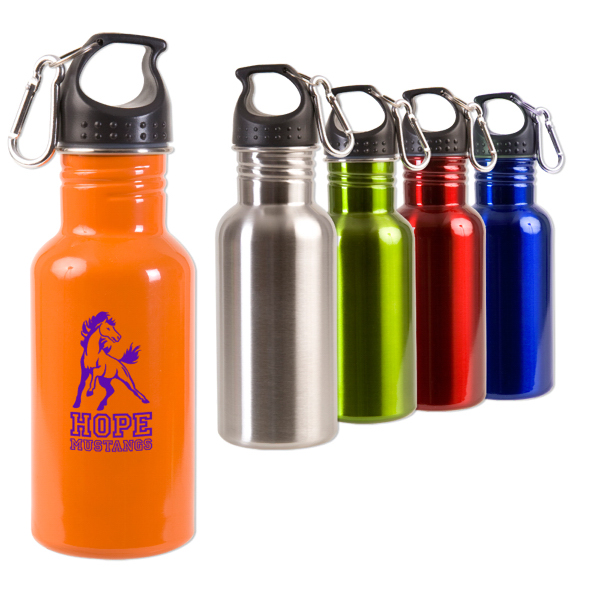 Printed 17 oz. Stainless Steel Adventure Bottle