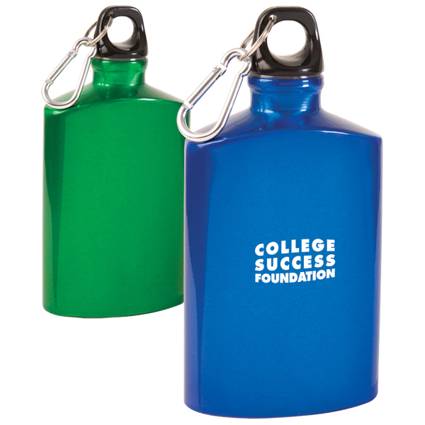 Customized Aluminum Canteen Bottle w/ Carabiner