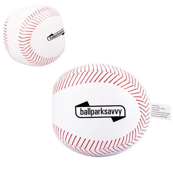 Imprinted Baseball Pillow Ball