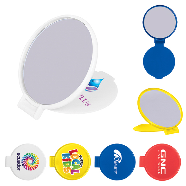 Customized Compact Round Mirror